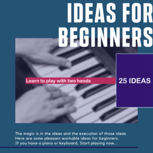 25 Ideas for beginners to learn two hands