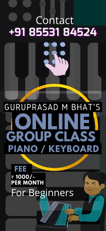Guruprasad M Bhat's Online group class